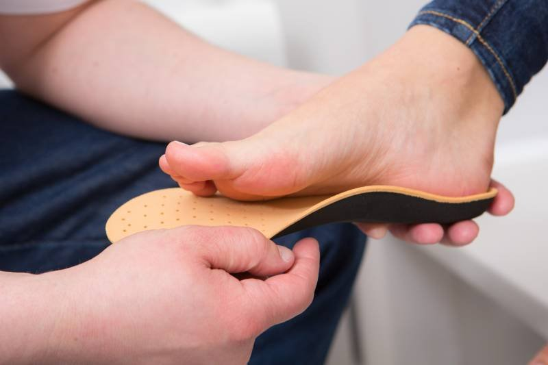 Indywidualne, specjalistyczne wkładki do butów