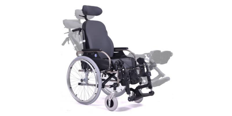 Wózki inwalidzkie specjalne - Dla osób z osłabionymi mięśniami grzbietu i brzucha