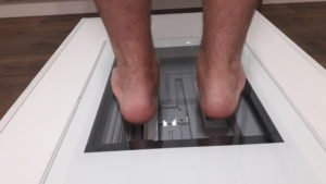 badanie stóp napodoskanerze