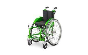 Lekki wózek inwalidzki dla niepełnosprawnego dziecka - brandvital.eu