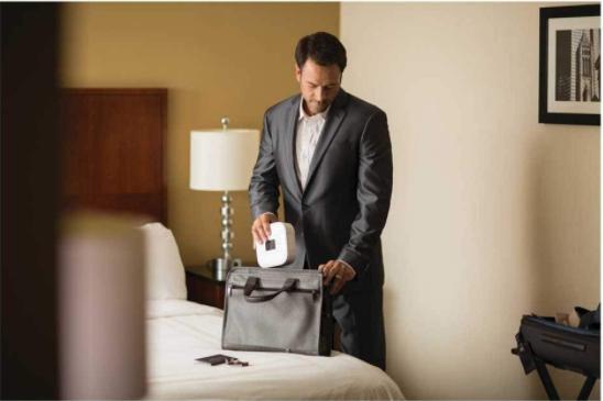 Auto CPAP DreamStation Go – niezawodny wszędzie tam, gdzie jesteś