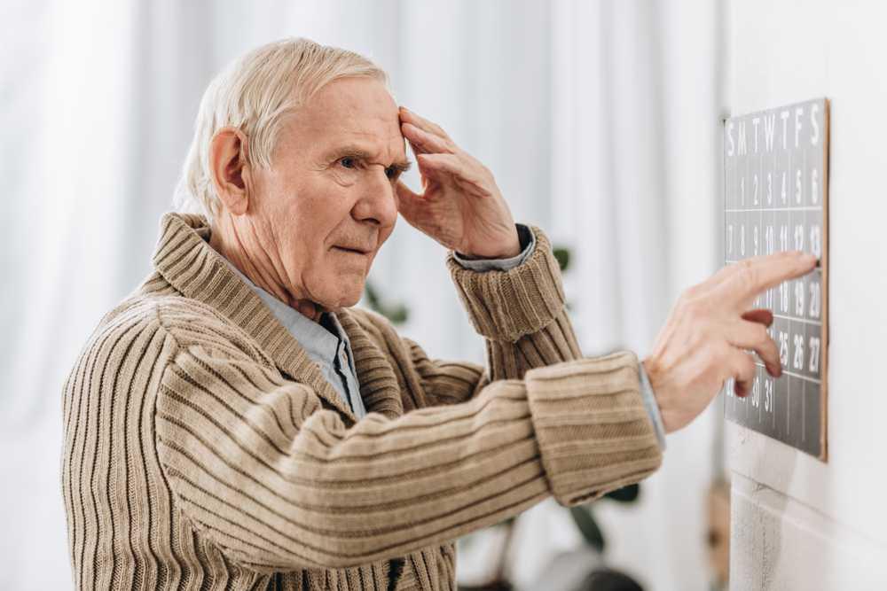 Nieoczywiste objawy demencji starczej