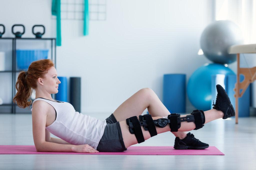 operacja kolana - ćwiczenia wzmacniające