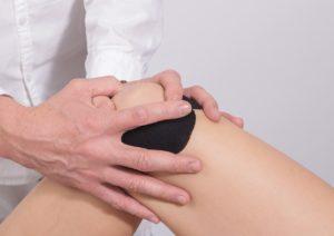 taping pooperacji kolana